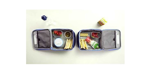 Swapping foods in lunchboxes