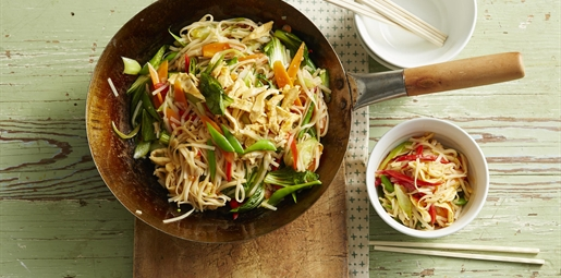 Sweet Chilli Noodle Stirfry
