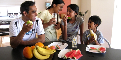 family fruit healthy eating fruits and vegetables