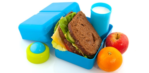 Healthy Packed Lunch Box