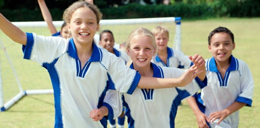 Healthy Kids Get Active Each Day