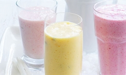 glasses of smoothies