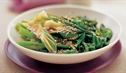 Asian Greens with Sweet Soy and Sesame Dressing