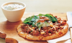 Moroccan Lamb Pizza