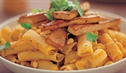 Rigatoni with Pumpkin and Ginger Tofu