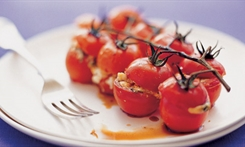 Roasted Tomato, Basil and Feta