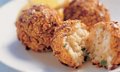 Toasted Seed Risotto Balls