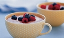Chocolate Mousse with Fresh Berries